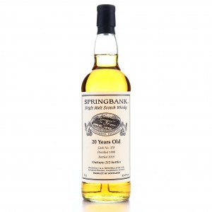 Springbank 1998 Private Cask 20 Year Old #378