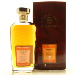 Springbank 1969 Signatory Vintage 40 Year Old Cask Strength