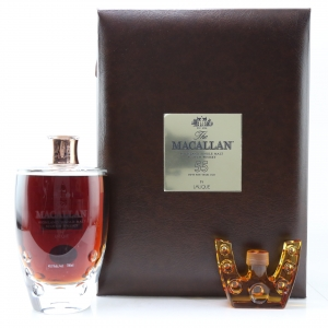 Macallan 55 Year Old Lalique Six Pillars Collection