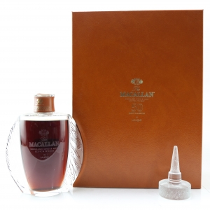 Macallan 50 Year Old Lalique Six Pillars Collection