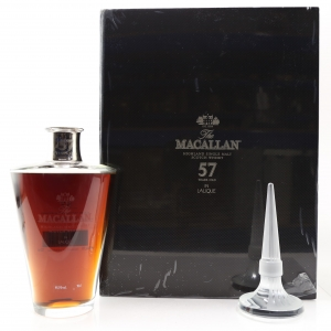 Macallan 57 Year Old Lalique Six Pillars Collection