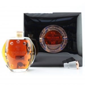 Macallan 60 Year Old Lalique Six Pillars Collection
