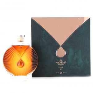 Macallan 65 Year Old Lalique Six Pillars Collection