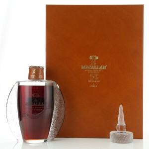 Macallan 50 Year Old Lalique Six Pillars Collection No.1
