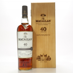Macallan 40 Year Old 2017 Release 75cl / South African Import