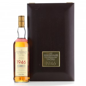 Macallan 1946 Select Reserve 52 Year Old
