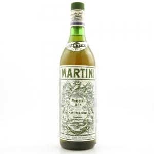 Martini Dry 1 Litre 1990s