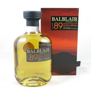 Balblair 1989 3rd Release front