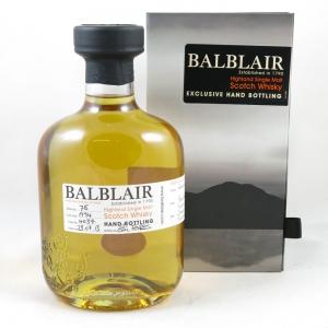 Balblair 1994 Single Cask (Hand Filled) front