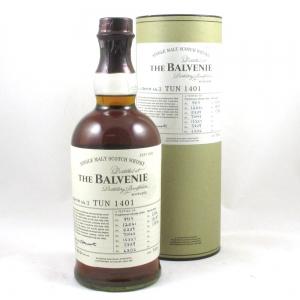 Balvenie Tun 1401 Batch 3 (US Import) Front