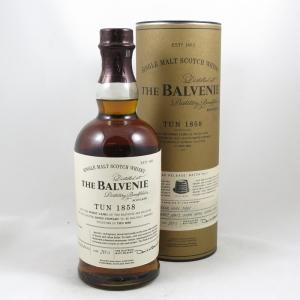 Balvenie Tun 1858 Batch #1 front