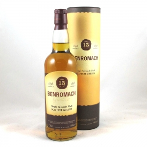 Benromach 15 Year Old Front