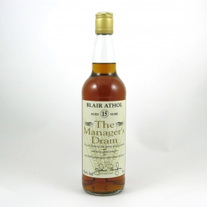 Blair Athol 15 Year Old Manager's Dram 1996 Front