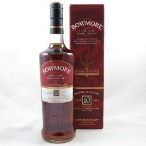 Bowmore Devil's Cask 10 Year Old 75cl (US Import) front