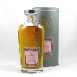 Brora 1981 Signatory Vintage 23 Year Old front