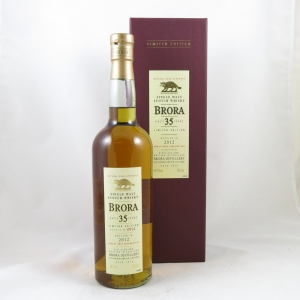 Brora 35 Year Old 2012 Release Front