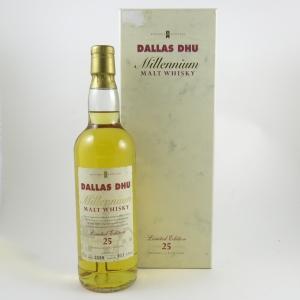 Dallas Dhu Millennium 25 Year Old front