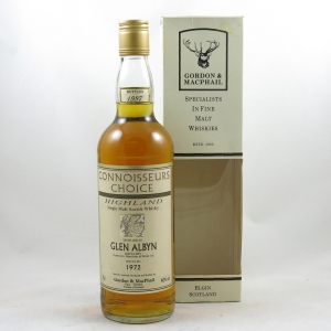 Glen Albyn 1972 Gordon and Macphail 25 Year Old front