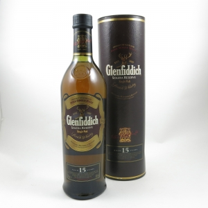 Glenfiddich 15 Year Old Solera Reserve front