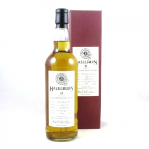 Hazelburn 2001 Bourbon Barrel 8 Year Old Front