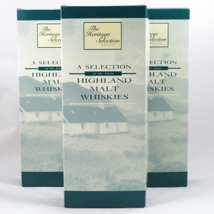 The Heritage Selection (4x5cl) - Three Sets