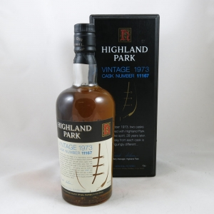 Highland Park 1973 Single Cask #11167 front