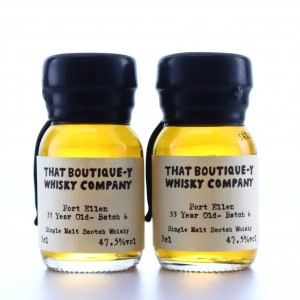 Port Ellen 33 Year Old That Boutique-y Whisky Company Batch #6 Samples x 2