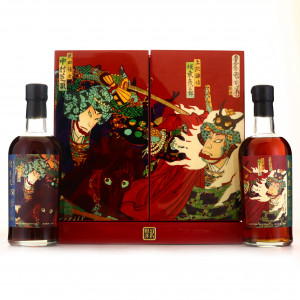 Karuizawa 1981 Battle of Kawanakajima 35 Year Old 2 x 70cl / Casks #7922 & #226