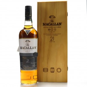 Macallan 21 Year Old Fine Oak 75cl / US Import