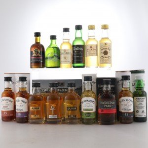 Islay and Island Miniature Selection 15 x 5cl