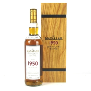 Macallan 1950 Fine and Rare