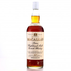 Macallan 1954 Campbell, Hope and King 80 Proof