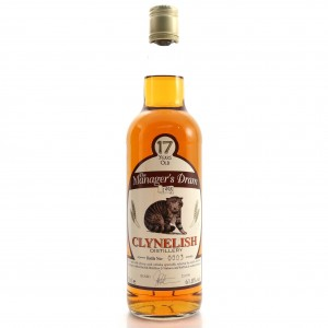 Clynelish 17 Year Old Manager's Dram 1998 / Bottle No. 3