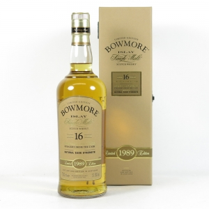 Bowmore 1989 Bourbon Cask 16 Year Old Front