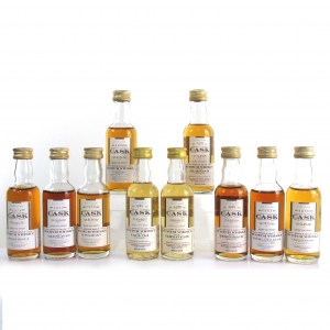 Gordon MacPhail Cask Strength Miniature Selection 10 x 5cl