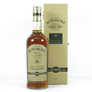 Bowmore 1990 Sherry Cask 16 Year Old Front