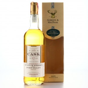 Port Ellen 1980 Gordon and MacPhail Cask Strength