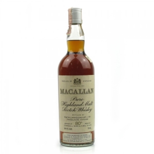 Macallan Late 1950s Vintage Campbell, Hope and King