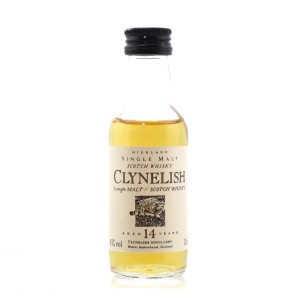 Clynelish 14 Year Old Flora and Fauna Miniature 5cl