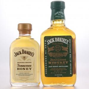 Jack Daniel's Old No.7 Green Label & Honey Liqueur 10cl & 20cl