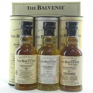 Balvenie Miniature Set 3 x 5cl / includes 15 Year Old Single Barrel