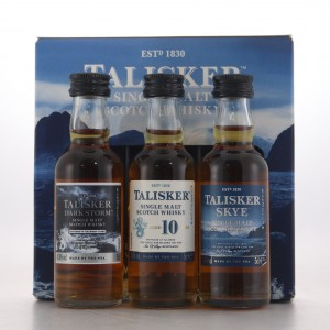 Talisker Made By The Sea Gift Set 3 x 5cl / Travel Exclusive
