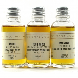 The Perfect Measure Miniatures 3 x 3cl / includes Macallan Edition No.3