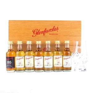 Glenfarclas Miniature Set and Snifter 7 x 5cl