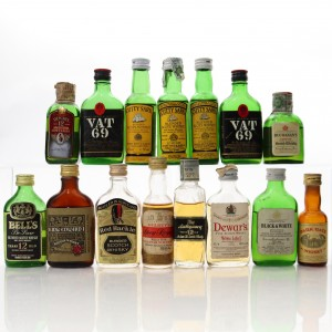 Scotch Whisky Miniature Selection x 15
