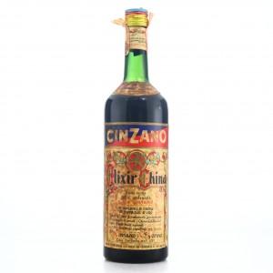 Cinzano Elixir China 1 Litre 1960s