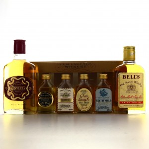 Scotch Whisky 20cl x 2 / with Miniatures x 4