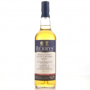 Littlemill 1990 Berry Brother's 22 Year Old