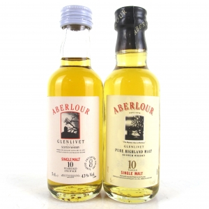 Aberlour 10 Year Old 2 x 5cl