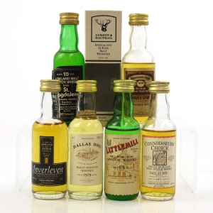 Miscellaneous Closed Distillery Selection 6 x 5cl